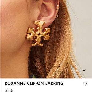 TORY BURCH ROXANNE CLIP-ON EARRING